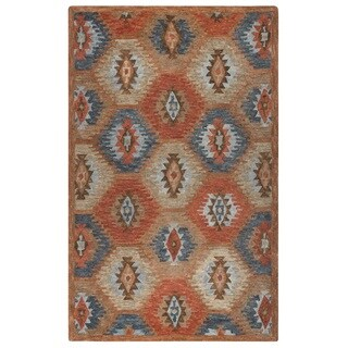 Rizzy Home Leone Collection Tribal Area Rug (9' x 12')