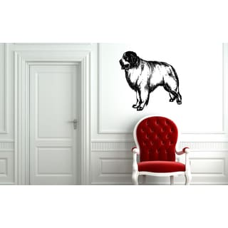 Great Pyrenees Dog Shaggy Wall Art Sticker Decal