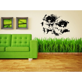 Pekingese Dog Cutie Puppies Wall Art Sticker Decal
