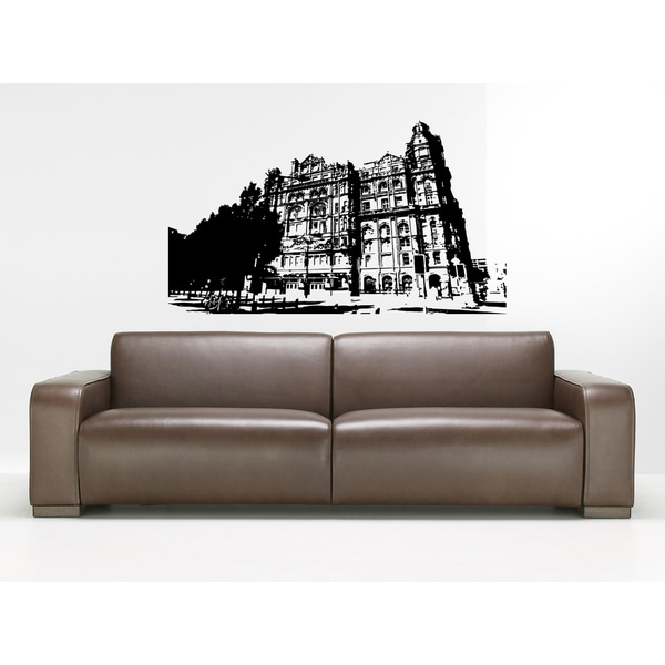 Manchester City Historic building Wall Art Sticker Decal