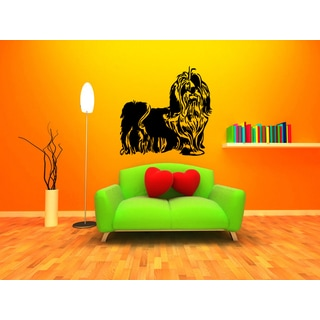 Beauty Pekingese Dog Wall Art Sticker Decal