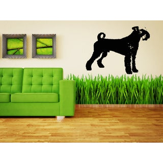 Airedale Terrier Dog Puppy Pet Wall Art Sticker Decal
