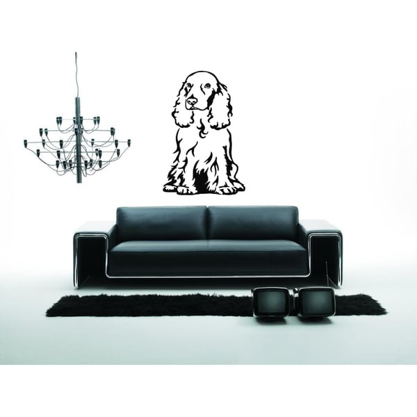 Cocker Spaniel Dog Puppy Breed Pet Animal Family Wall Art Sticker Decal