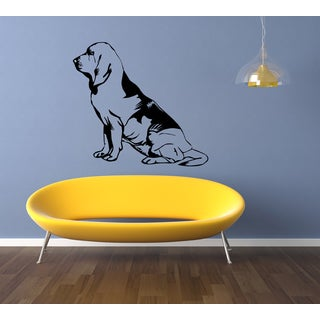 Beagle Dog Profile Wall Art Sticker Decal