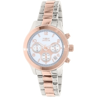 Invicta Women's Rose Goldtone Stainless Steel Angel 19220 Quartz Watch