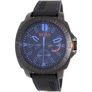 Hugo Boss Men's Black Silicone Sao Paulo 1513242 Quartz Watch
