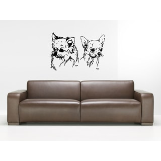 Chihuahua Dog Cutie Wall Art Sticker Decal