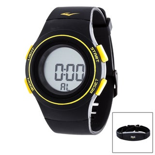 Everlast Black HR6 Heart Rate Monitor Watch with Transmitter Belt