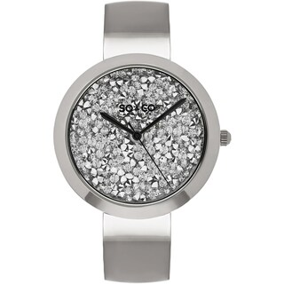 SO&CO New York Women's SoHo Quartz Stainless Steel Bangle Crystal Watch|https://ak1.ostkcdn.com/images/products/11336377/P18311393.jpg?_ostk_perf_=percv&impolicy=medium