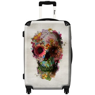 iKase Mythical Flowers 24-inch .Hardside Spinner Luggage