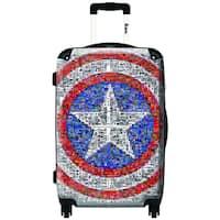 iKase Captain America 24-inch .Hardside Spinner Luggage