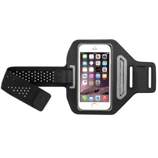 INSTEN Universal Vertical Sport Advanced Armband with Key Pouch and Earphone Cord Storage for Cellphones up to 5.1 inches