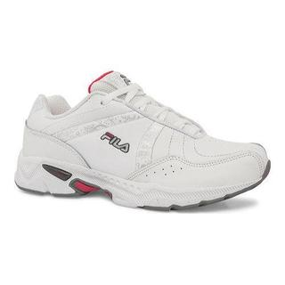 Women's Fila Admire White/Monument/Hot Pink