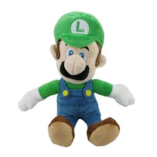 Nintendo 9-inch Super Mario Luigi Cute Soft Plush Toy