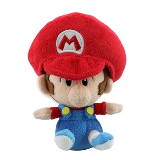 Nintendo 5-inch Super Mario Baby Mario Cute Soft Plush Toy
