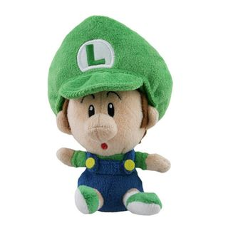 Nintendo 5-inch Super Mario Baby Luigi Cute Soft Plush Toy