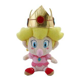 Nintendo 5-inch Super Mario Baby Peach Cute Soft Plush Toy