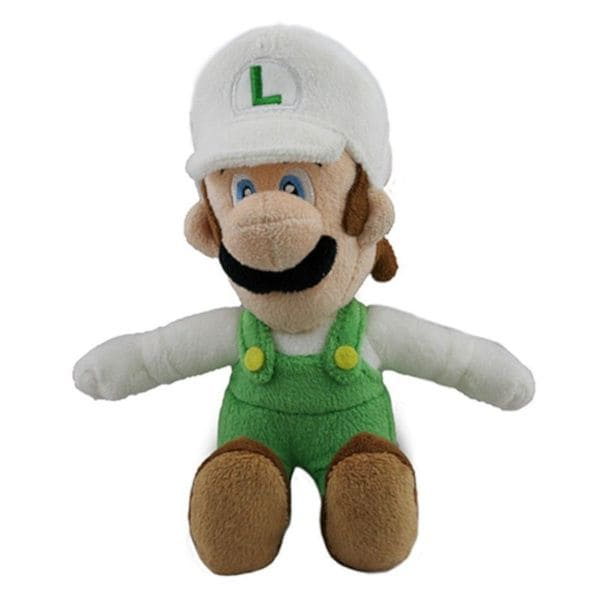 Nintendo 9-inch Super Mario Fire Luigi Cute Soft Plush Toy