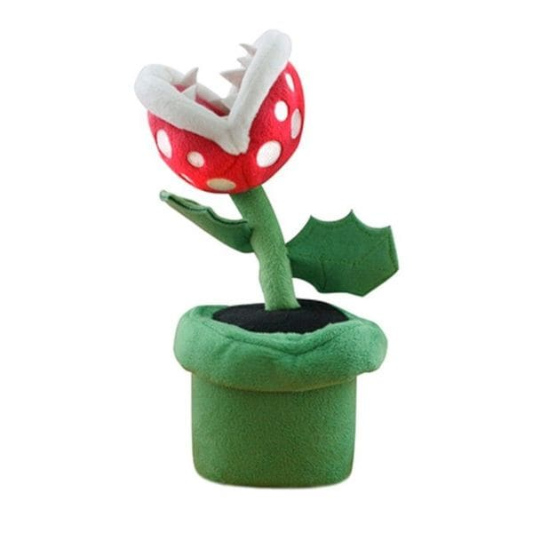 Nintendo 8-inch Super Mario Piranha Plant Cute Soft Plush Toy