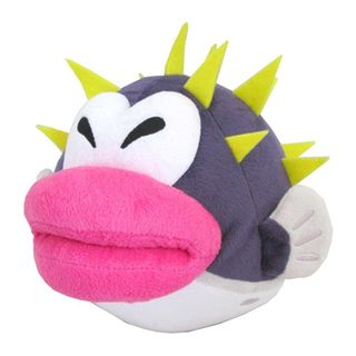 Nintendo 7-inch Super Mario Porcupuffer Cute Soft Plush Toy