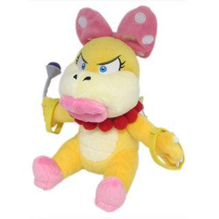 Nintendo 7-inch Super Mario Wendy Koopa Cute Soft Plush Toy