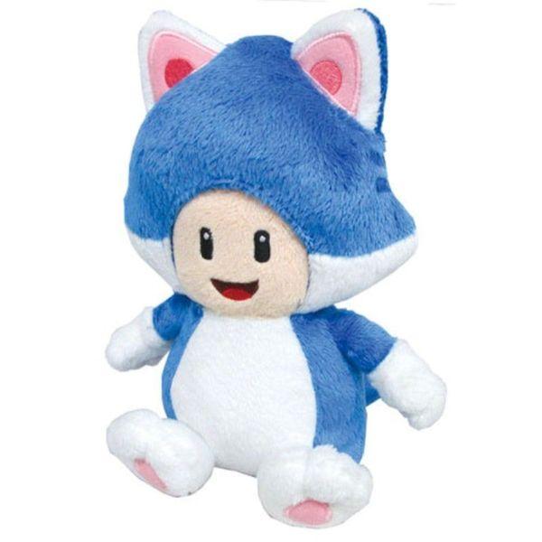 Nintendo 8-inch Super Mario Cat Toad Cute Soft Plush Toy