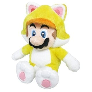 Nintendo 12-inch Super Mario Cat Mario Cute Soft Plush Toy