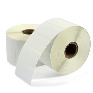 Insten White 2-inch x 1-inch Direct Thermal Label (Box of 12 Rolls)