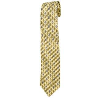 Davidoff Beige Silk Neck Tie