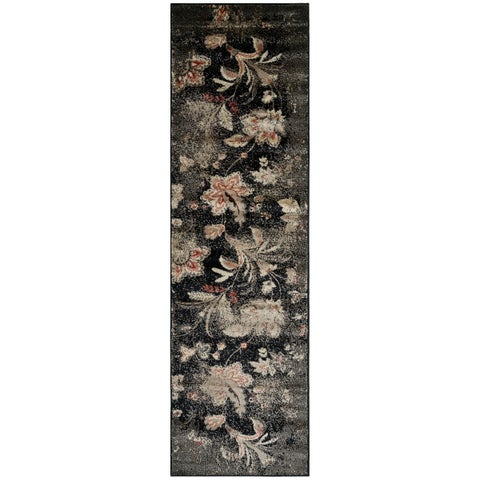 Rizzy Home Bay Side Collection Traditional Runner Rug - 2'3 x 8'