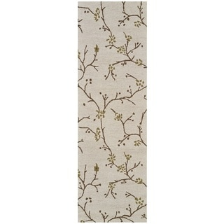 Rizzy Home Country Collection Floral Runner Rug (2'6 x 8')