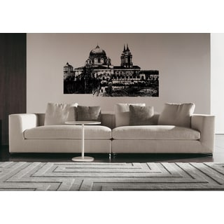 Moscow Skyline City Buildings Buildings Wall Art Sticker Decal