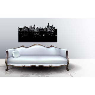 Amsterdam Old city Wall Art Sticker Decal