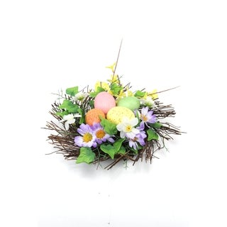 Spring Collection 10-inch Twig Nest Centerpiece