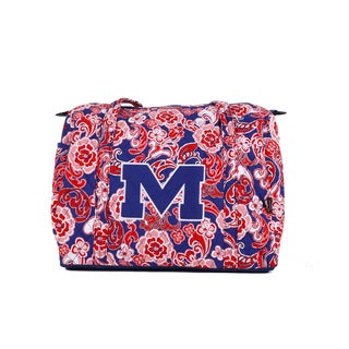 K-Sports Mississippi Ole Miss 15-inch Mini Duffle Bag