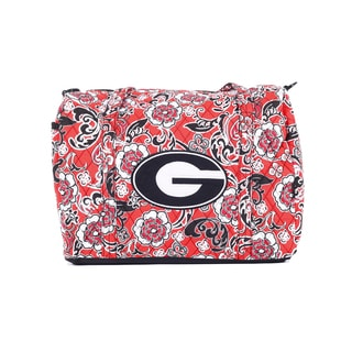 K-Sports Georgia Bulldogs 15-inch Mini Duffle Bag