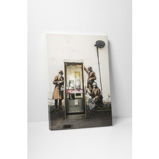 Banksy 'Graffiti in Cheltenham' Gallery Wrapped Canvas Wall Art