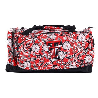 K-Sports Texas Tech Red Raiders 22-inch Extra Large Duffle Bag