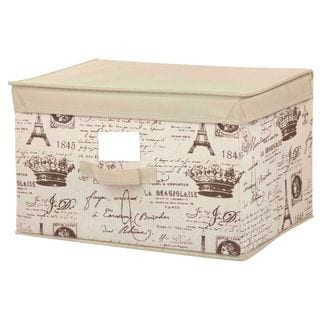 The Paris Collection By Home Basics Medium Storage Box