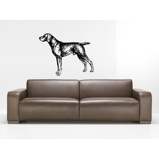 Weimaraner Dog Wall Art Sticker Decal