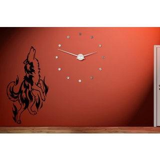 Siberian Husky Dog Wall Art Sticker Decal