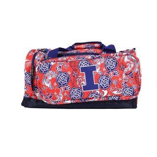 K-Sports Illinois Fighting Illini 23-inch Extra Large Duffle Bag