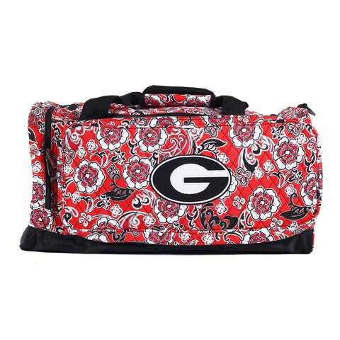 K-Sports Georgia Bulldogs 22-inch Extra Large Duffle Bag