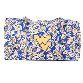 K-Sports West Virginia Mountaineers 22-inch Large Duffle Bag