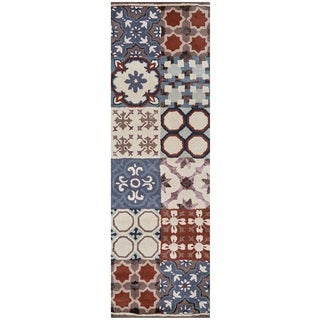 Rizzy Home Gillespie Avenue Hand-tufted New Zealand Wool Accent Rug (2'6 x 8')