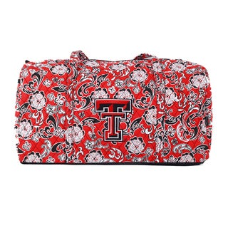 K-Sports Texas Tech Red Raiders 22-inch Large Duffle Bag
