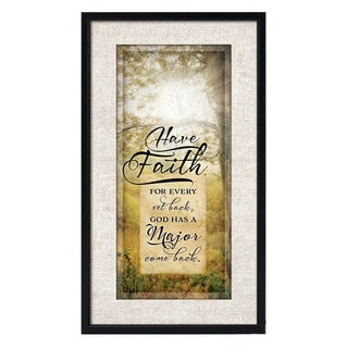 Dexsa Simple Expressions Have Faith Framed Plaque