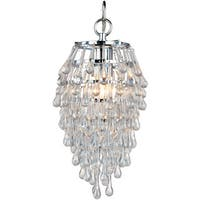 Crystal Teardrop Mini Chandelier