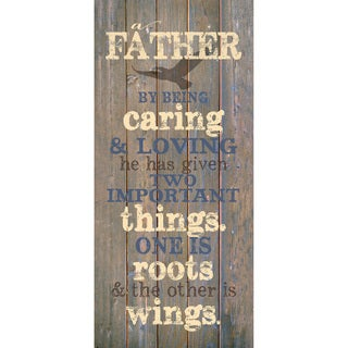 Dexsa Father By Being New Horizons Wood Plaque