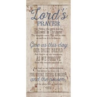Dexsa Lord's Prayer New Horizons Wood Plaque